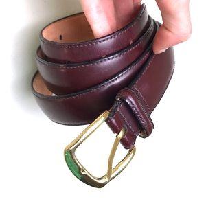 Jos. A. Bank Genuine Leather Brown Belt